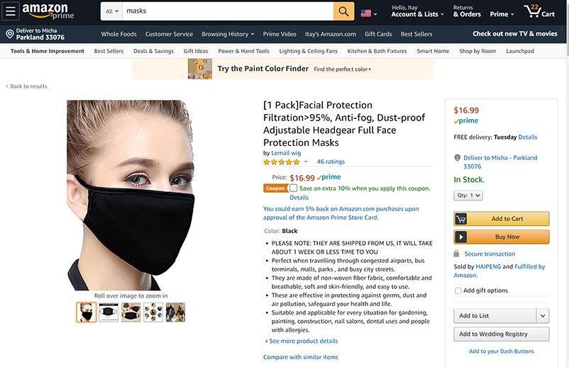 Morning Dough - Facebook Relaxes Ban on Ads for Non-Medical Masks