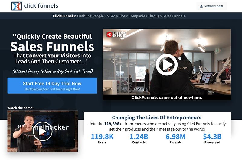 Morning Dough - Get Access ClickFunnel's High-Converting Sales Funnel Templates!