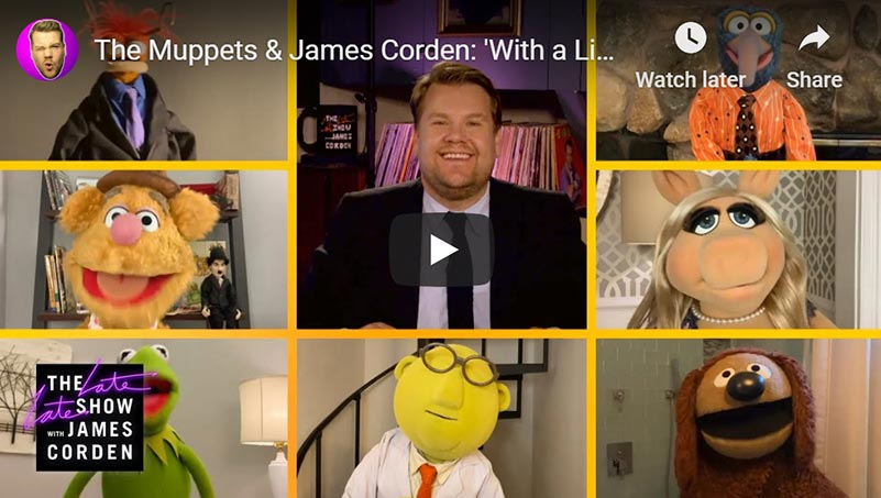 James Corden And The Muppets Having A Singalong Is 3 Minutes Of Pure Joy