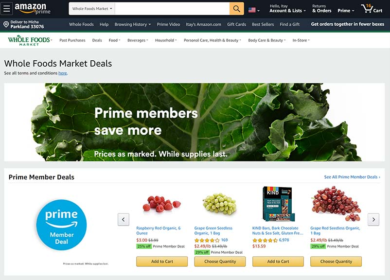 Morning Dough - Total Number Of Online Grocery Orders In The US Reached A Record 62.5 Million