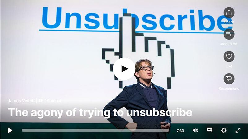 Morning Dough - The Agony Of Trying To Unsubscribe