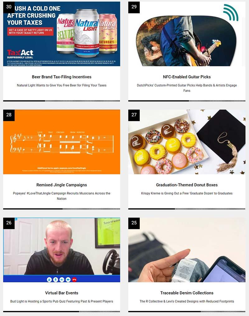 Morning Dough - Top 30 Interactive Trends in June 2020