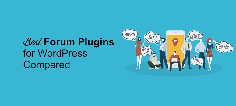 12 Best Forum Plugins for WordPress Compared & Reviewed