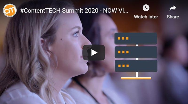 ContentTECH Summit Virtual Event – Big News!