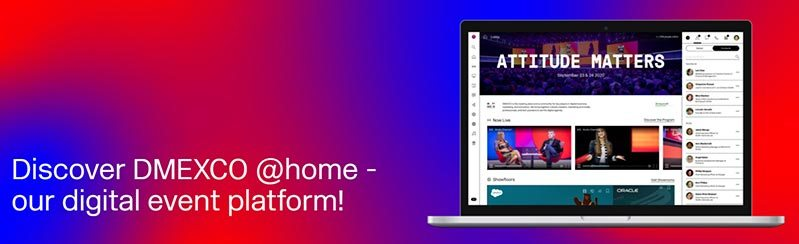 """DMEXCO 2020 @home: New On-Site Concept And A Digital """"DMEXCO"""""""