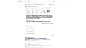 What is a SERP feature? SERP