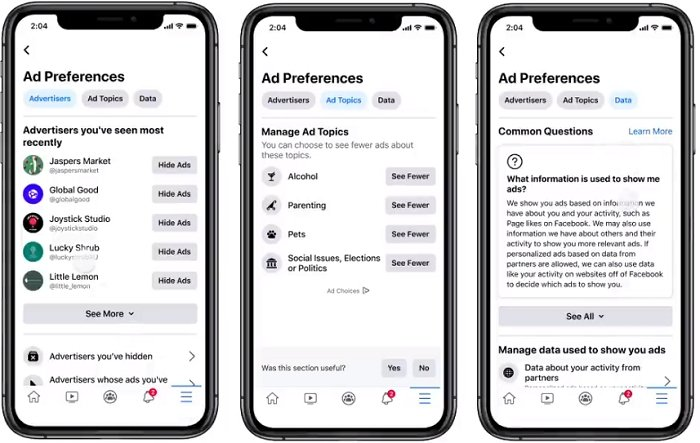 Facebook's Updating its Ad Preferences Hub to Make it Easier to Control Your Personal Ad and Data Settings
