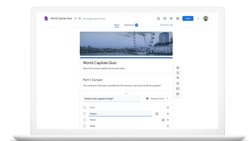 Google Forms Quick & Free Solution