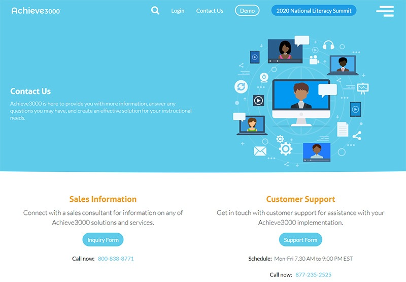 Top 39 Examples of Creative Contact Us Pages