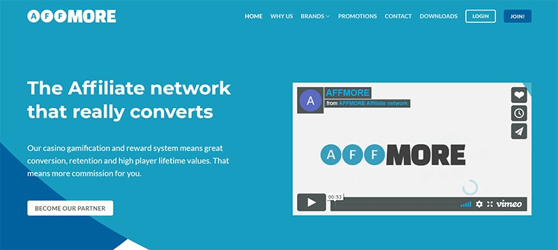 AFFMORE - Affiliate Network