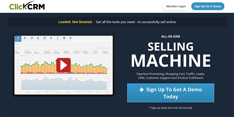 ClickCRM – All-In-One Selling Machine