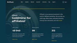 Affbank – Affiliate Marketing Directory