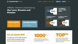Converting Team – Affiliate Network
