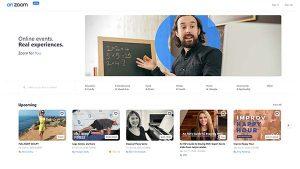 OnZoom – Online Events Platform & Marketplace