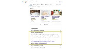 What is the Google 'People Also Ask' box?