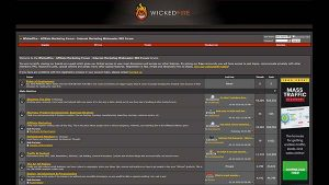 Wicked Fire - Affiliate Marketing Webmaster Forum