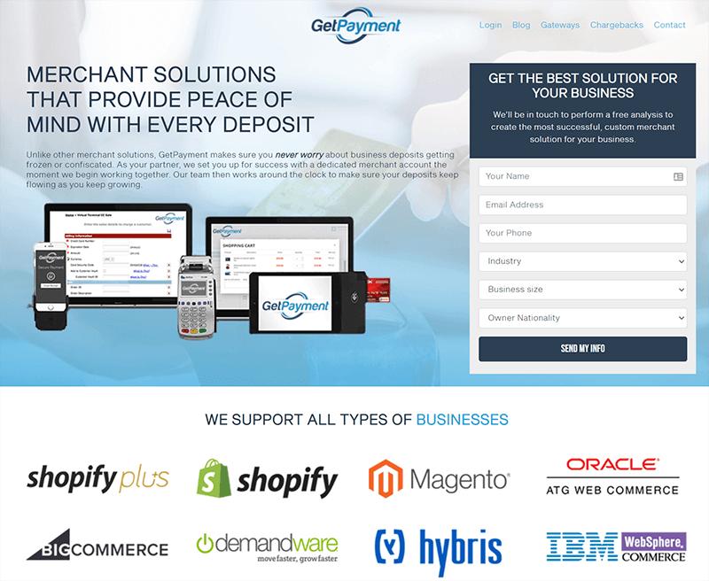 GetPayment - Merchant Solutions