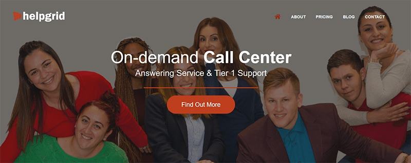 HelpGrid - On-demand 24/7 Call Center