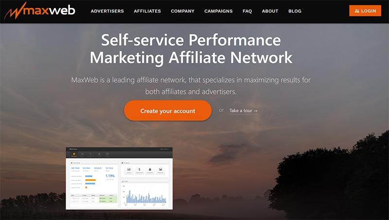 MaxWeb Affiliate Network