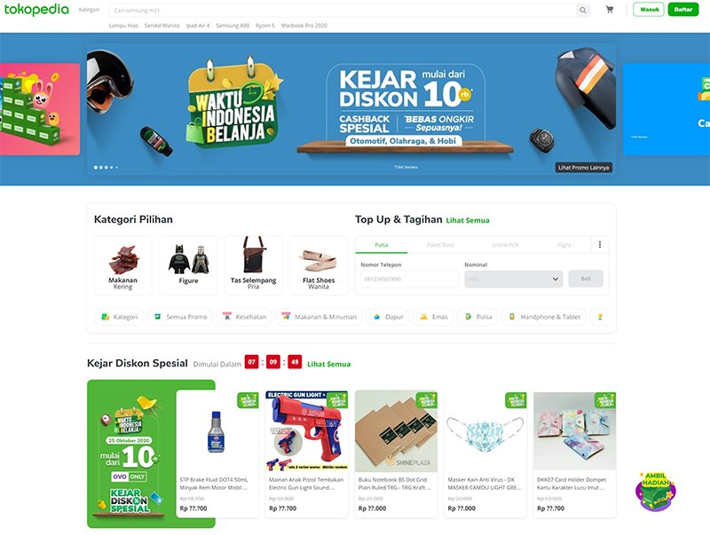 what is tokopedia morning dough