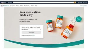 Amazon Launches Amazon Pharmacy for Prescription Medicine Delivery