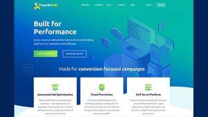 PropellerAds, Performance Marketing Ad Network