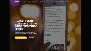 Taboola Native Advertising Network & Discovery Platform