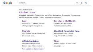 What are Sitelinks?