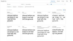 What is Google Fonts?