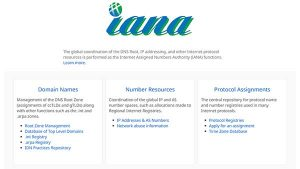 What is IANA?