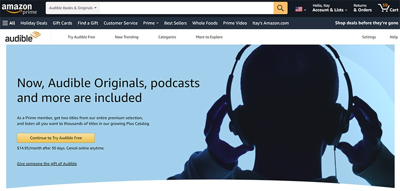Audible Free Trial – Get 30 Days Free Access!