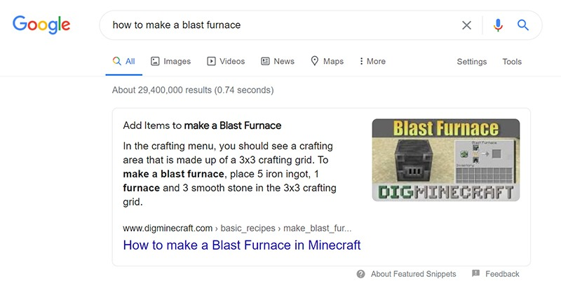 What is a Featured Snippet?