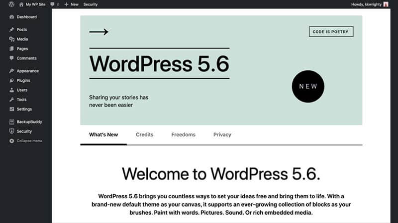 WordPress 5.6 Features & Improvements
