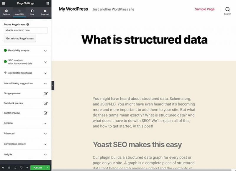 How to Integrate Yoast SEO and Elementor?