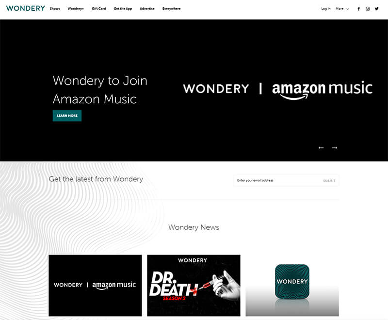 Amazon Buys Wondery, Setting Itself Up to Compete Against Spotify for Podcast Domination