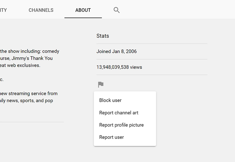 How to Block Channels on YouTube?