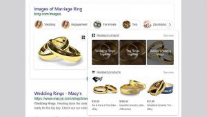 Bing Image Search Tests Related Content Feature & Icon