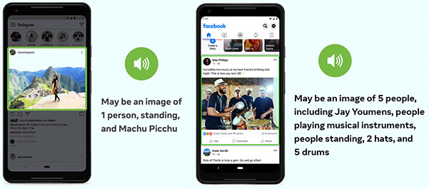 Facebook and Instagram's AI-generated image captions now offer far more details