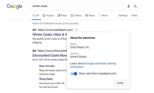 Google Ads begins identity verification