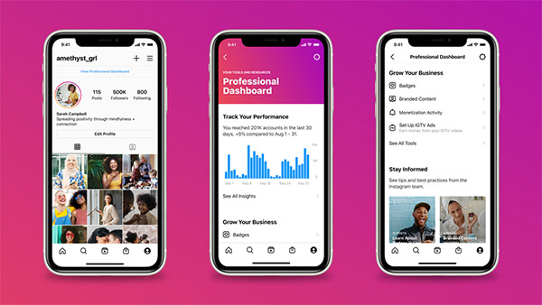 Instagram launches professional dashboard to help run business accounts