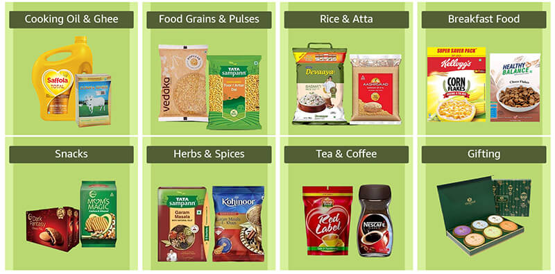 How to Sell Groceries on Amazon India?