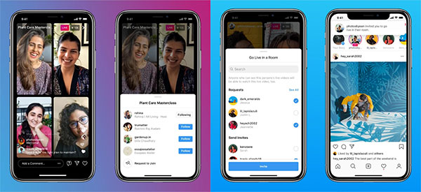 Doubling up on Instagram Live with live rooms