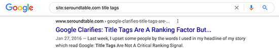 Google: Title tags longer than what is displayed has SEO benefit