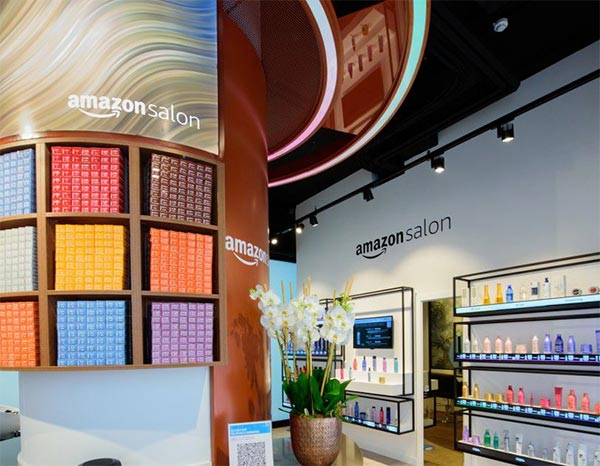 Amazon is opening a hair salon in London to trial new technology