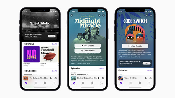 Apple introduces Podcasts Subscriptions to pay creators for content in redesigned app