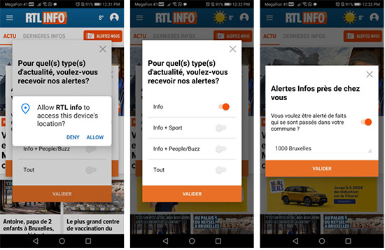 How news apps can keep their readers engaged using push notifications