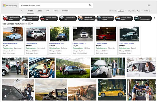 Microsoft Advertising announces open beta for new automotive ads
