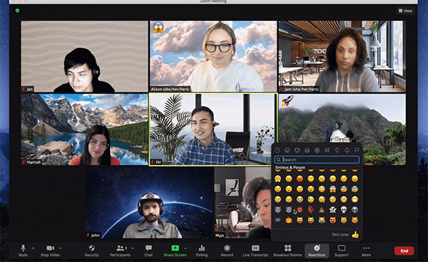 Zoom update delivers more emoji reactions and new annotation features
