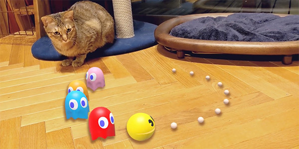 Google Search adds AR Pac-Man, 3D Hello Kitty, Gundam, and other Japanese characters