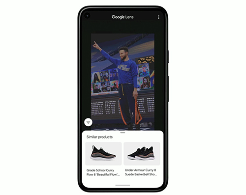 Google enables users to search for products to buy directly from a photo